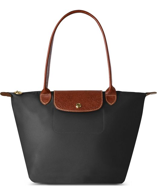 Longchamp - Black Le Pliage Small Shopper - Lyst