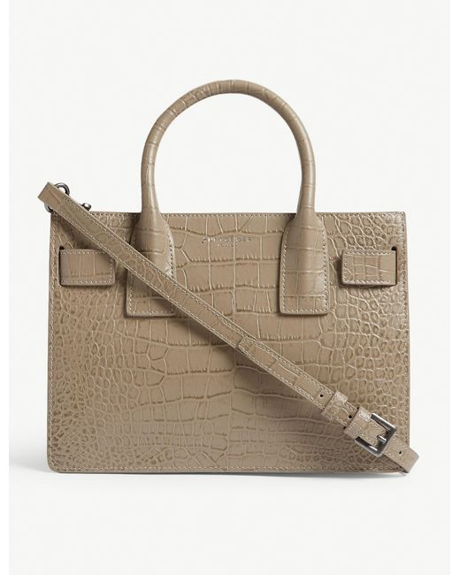 Kurt Geiger Multicolor Shoreditch Small Croc-embossed Leather Tote Bag