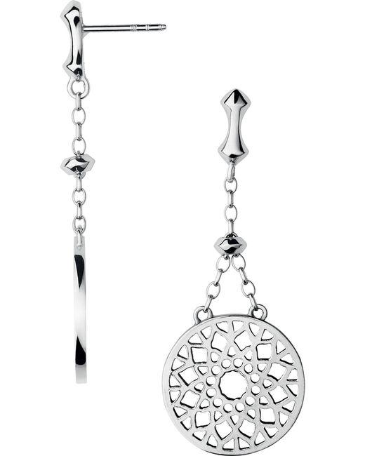 Links of London   Metallic Timeless Sterling Silver Earrings   Lyst