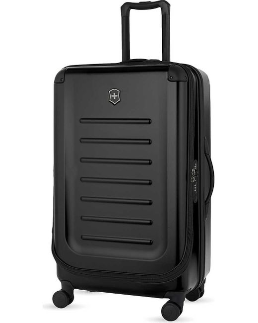 Victorinox Black Spectra 2.0 Expandable Four-wheel Suitcase