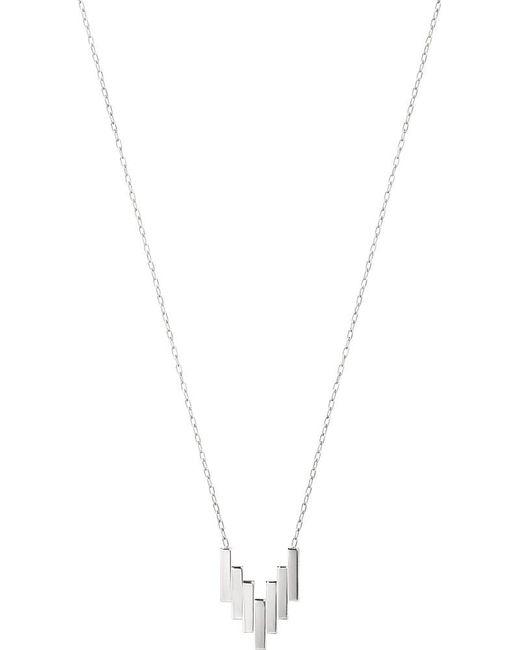 Georg Jensen   Metallic Aria Sterling Silver Pendant   Lyst