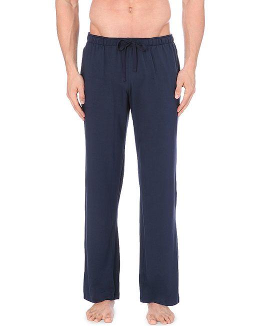 Derek Rose   Blue Basel Casual Trousers for Men   Lyst