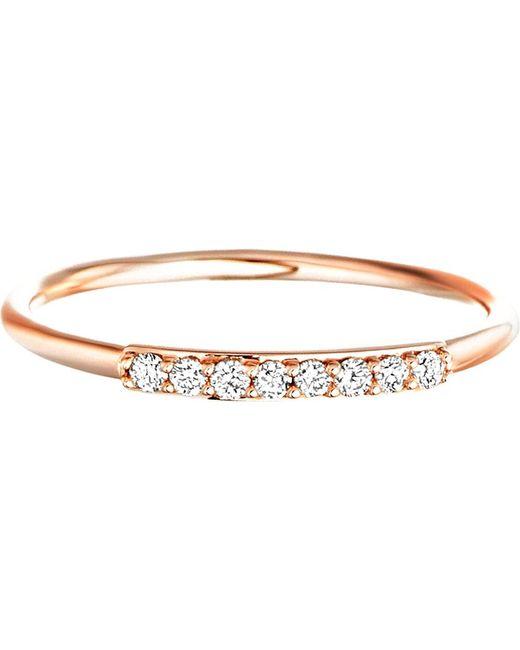 Astley Clarke | Metallic Small Linia Halo Ring | Lyst