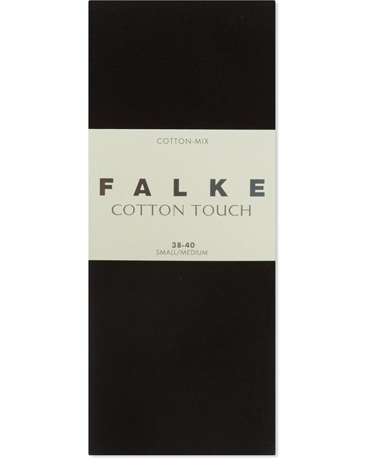 Falke - Black Cotton Touch Tights - Lyst