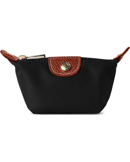 Longchamp   Black Le Pliage Small Coin Purse In - For Women   Lyst