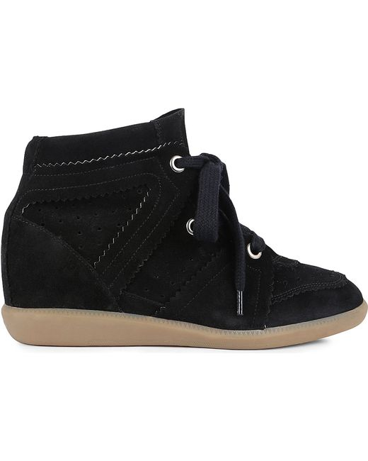 Isabel Marant | Bobby Sneakers Faded Black | Lyst