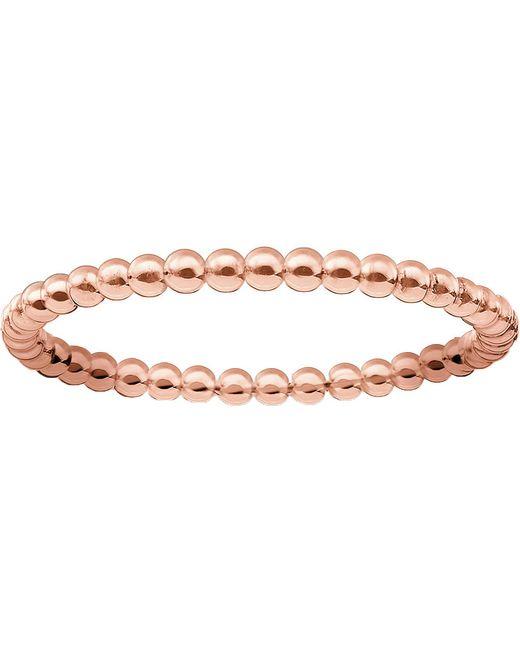 3c27bd420 Lyst - Thomas Sabo Dot 18ct Rose Gold-plated Ring in Metallic