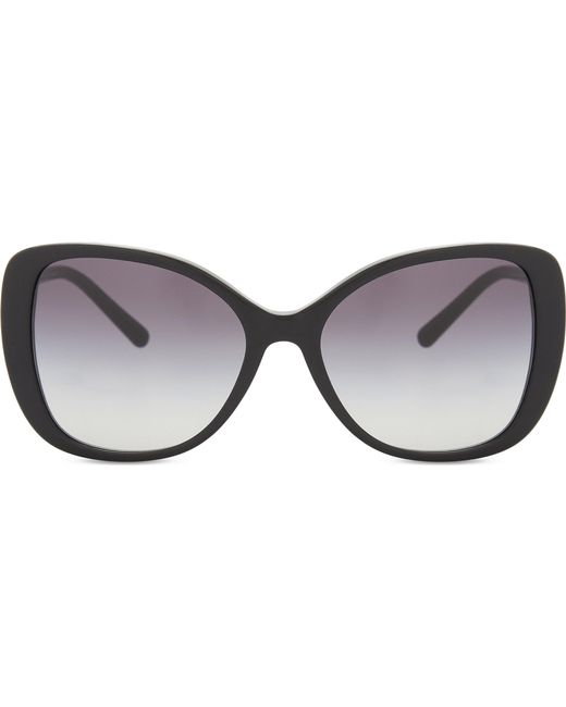 Burberry | Black Be4238 Butterfly-frame Sunglasses | Lyst