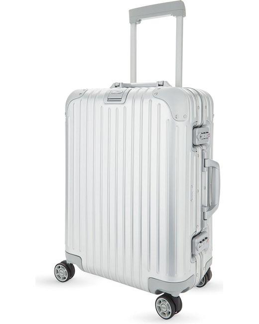 Rimowa | Black Topas Multi-wheel Suitcase 55cm for Men | Lyst