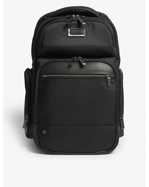 Briggs & Riley Black @work Cargo Backpack