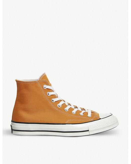 Converse - Brown All Star 70 High-top Canvas Trainers for Men - Lyst