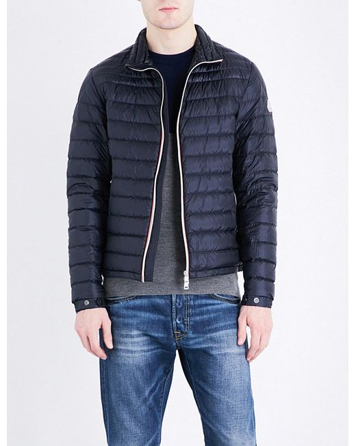 Moncler | Blue Daniel Quilted Shell Jacket for Men | Lyst