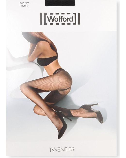 Wolford - Black Twenties Tights - Lyst