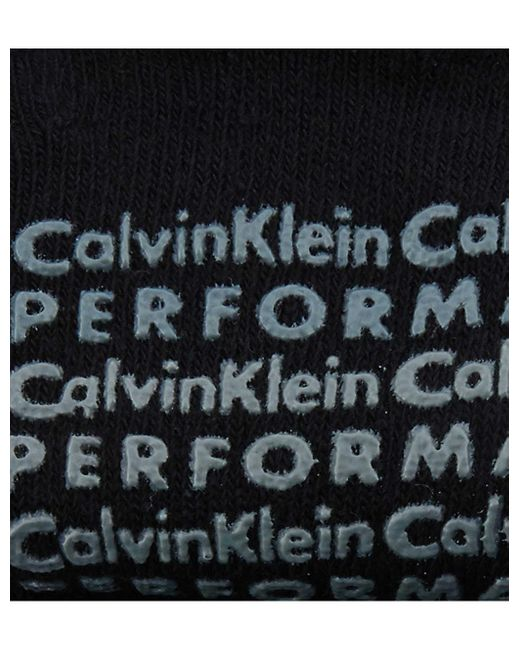 Calvin Klein Black Yoga Anklet Split Toe Socks
