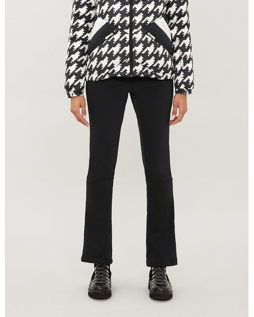 Perfect Moment Black Ancelle High-rise Shell Skinny Ski Trousers