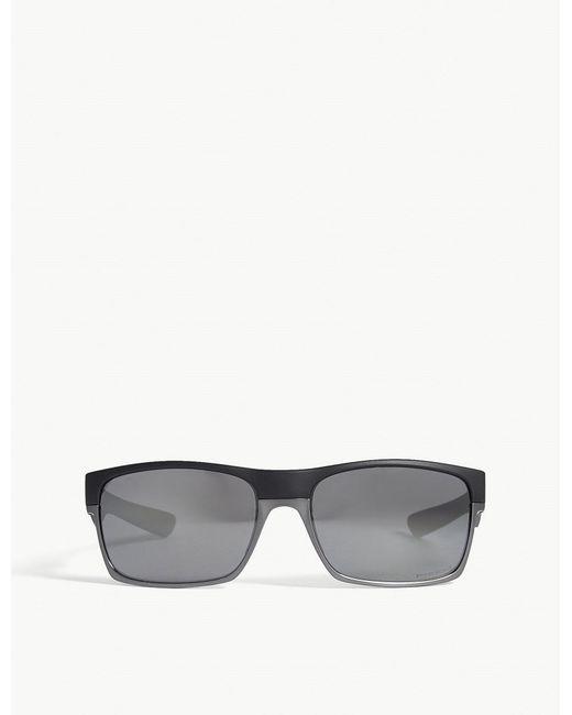 8955a30f418 Oakley Twoface Rectangle-frame Sunglasses in Black for Men - Lyst