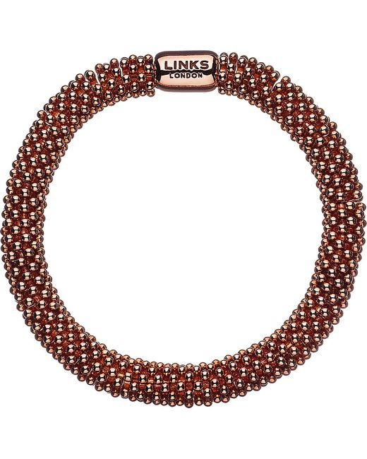 Links of London | Metallic Effervescence Star Bracelet Rose Gold | Lyst
