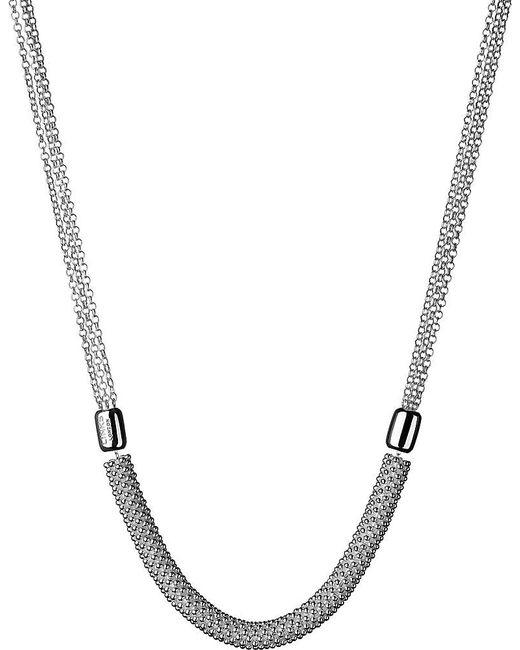 Links of London | Metallic Effervescence Star Sterling Silver Necklace | Lyst