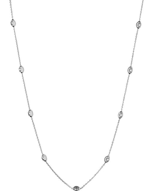 Links of London | Metallic Beaded Chain Necklace | Lyst