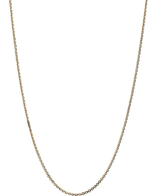 Links of London | Metallic 18ct Gold Cable Chain Necklace | Lyst