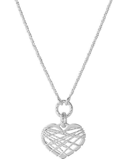 Links of London   Metallic Dream Catcher Heart Pendant Necklace   Lyst