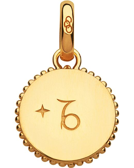 Links of London | Capricorn 18ct Yellow-gold Vermeil Zodiac Charm | Lyst