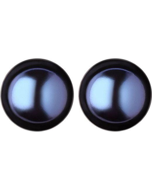 Links of London | Effervescence Large Black Pearl Stud Earrings | Lyst