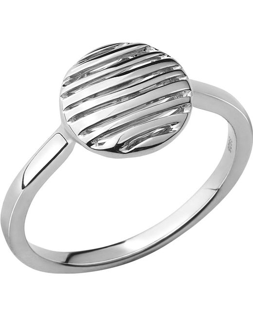 Links of London   Metallic Thames Sterling Silver Ring   Lyst