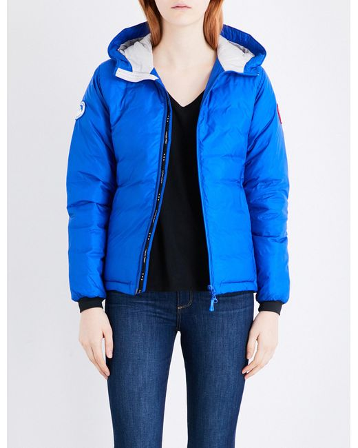Canada Goose | Blue Camp Quilted Jacket | Lyst