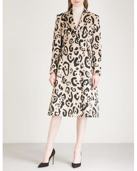 Altuzarra - Multicolor Driss Leopard-print Wool-blend Coat - Lyst