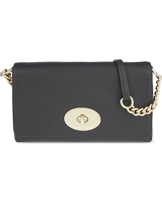 COACH | Black Crosstown Leather Cross-body Bag | Lyst