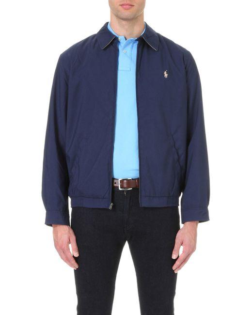 Polo Ralph Lauren | Blue New Fit Bi-swing Windbreaker Jacket for Men | Lyst
