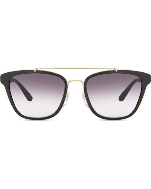 Burberry | Black Be4240 Square-frame Sunglasses | Lyst