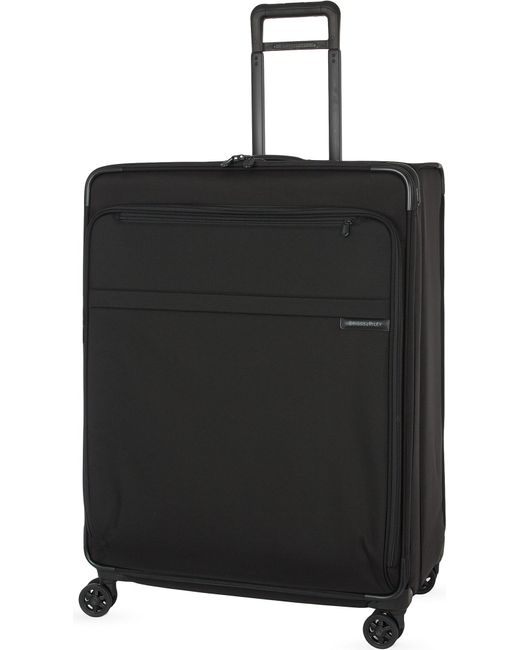 Briggs & Riley - Black Extra Large Expandable Spinner Suitcase Trolley for Men - Lyst