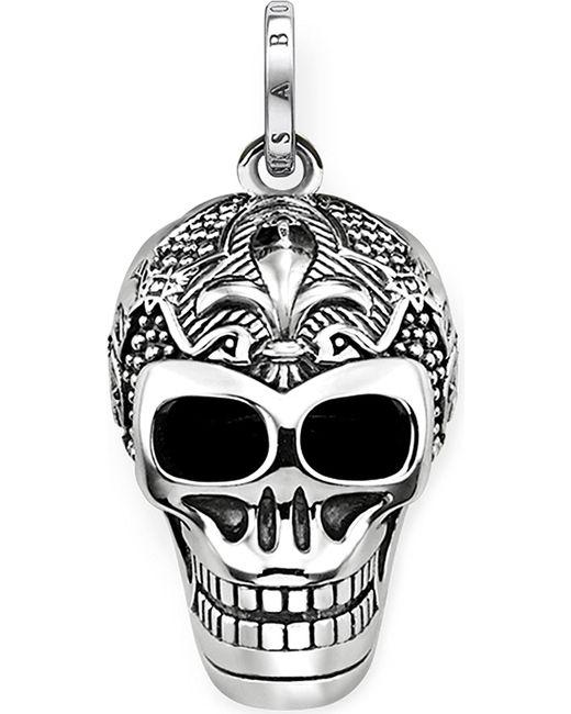 Thomas Sabo - Metallic Rebel At Heart Skull Sterling Silver Pendant - Lyst