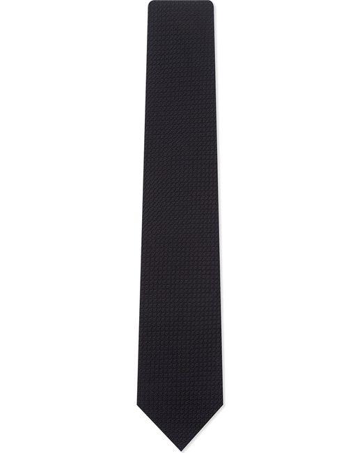 Drake's - Blue Plain Grenadine Silk Tie for Men - Lyst