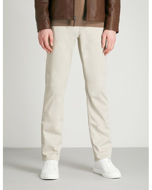 Polo Ralph Lauren - Gray Tailored-fit Straight Jeans for Men - Lyst