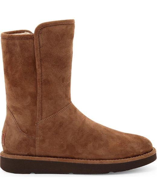 Ugg | Brown Ugg Abree Ii Short Boot | Lyst