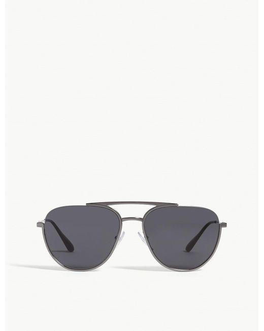 Prada - Gray Phatos Sunglasses for Men - Lyst