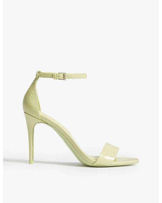 ALDO Green Cally Patent Sandals
