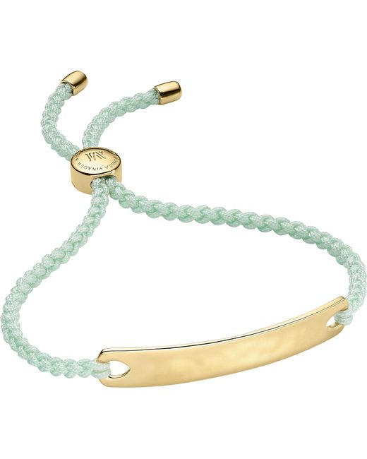Monica Vinader - Multicolor Havana 18ct Gold-plated Friendship Bracelet - Lyst