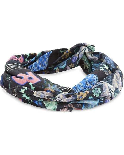 Camilla | Blue Wire Wrap Headband | Lyst