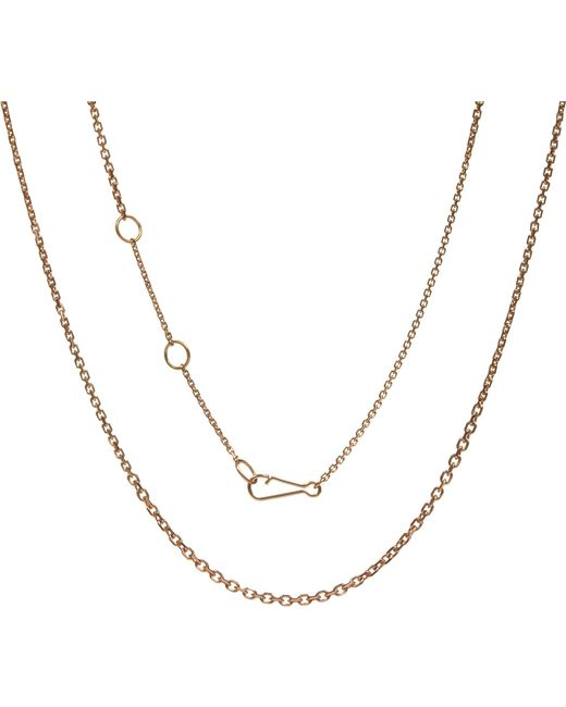 Annoushka - Metallic Classic Gradient 18ct Rose-gold Chain Necklace - Lyst