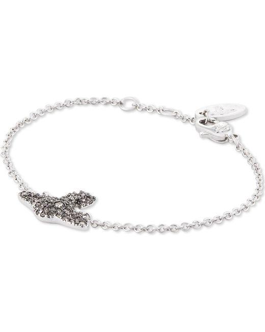 Vivienne Westwood   Metallic Grace Orb Sterling Silver Bracelet   Lyst