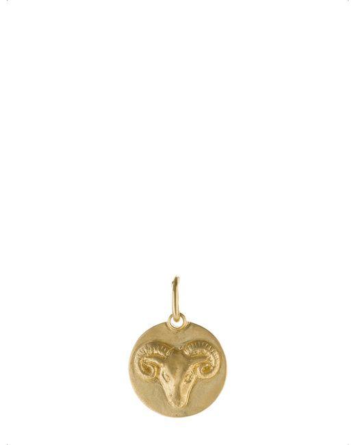 Annoushka | Aries 18ct Yellow Gold Pendant | Lyst