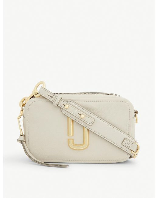 Marc Jacobs Natural Softshot 21 Leather Cross-body Bag