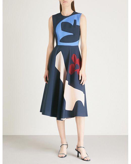 Roksanda - Blue Kerama Woven Dress - Lyst