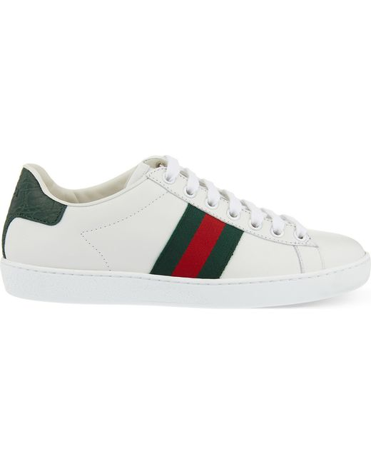 Gucci White New Ace Sneaker