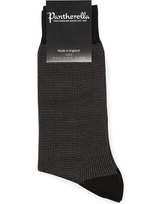 Pantherella - Black Birdseye Socks for Men - Lyst