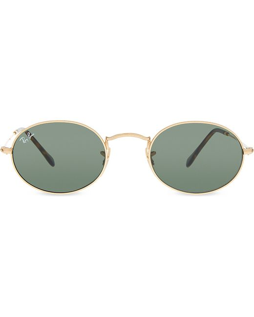 a1d29c2d6eb Ray Ban Oval Frames. Home → Ray Ban Oval Frames. Eyeglasses Ray-Ban Oval  Metal Rx 3547V 2502 Ruthenium ...